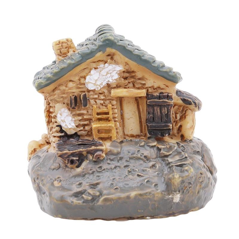 Popular Hot Sell 8 Styles Stone House Fairy Garden