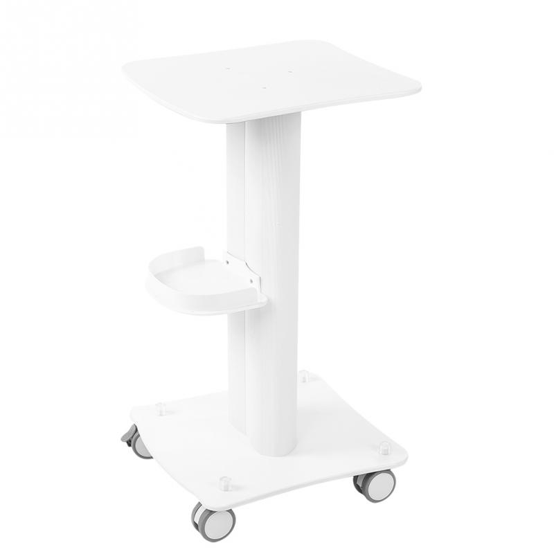 цена на PVC Beauty Salon Trolley Salon Use Pedestal Rolling Cart Wheel Aluminum Stand for Skin Care RF Beauty equipment