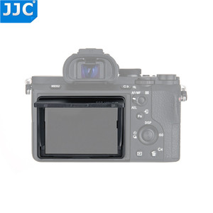 Image 3 - JJC Universal 3.0 inch LCD Screen Hood Protector Cover for Sony/Canon/Fujifilm DSLR Camera Black Pop up Case
