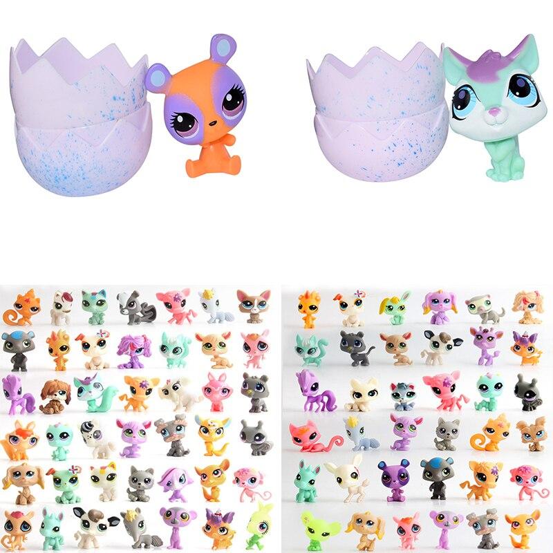 10pcs Surprise Animals Eggs Magic Surprise Pet Fun Surprise Eggs Surprise Doll Gift Kids Toys Children Christmas Gift