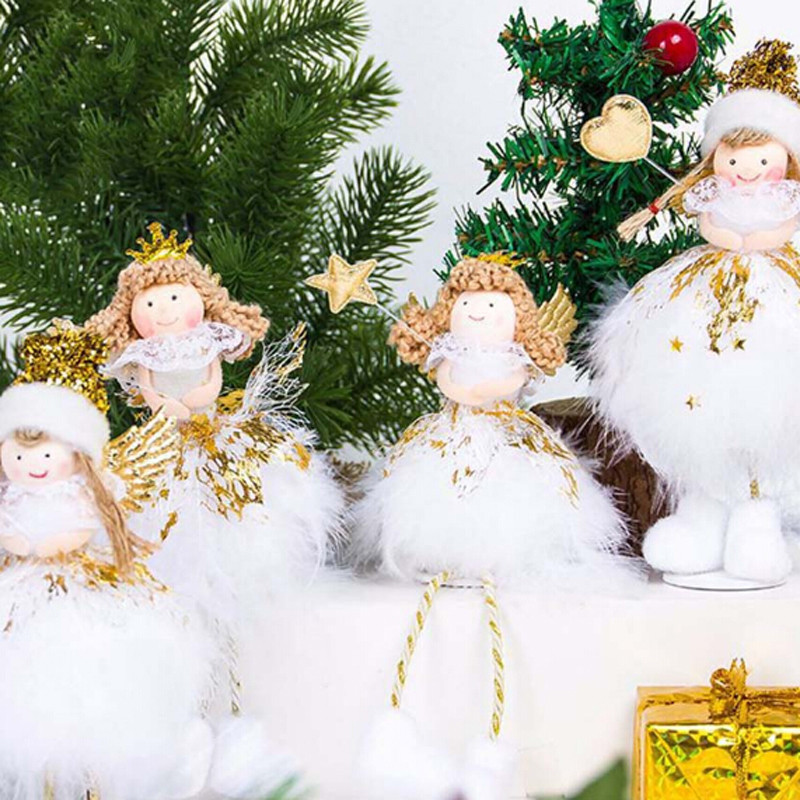 2019 New Christmas Angel Doll Toy Christmas Decorations ...