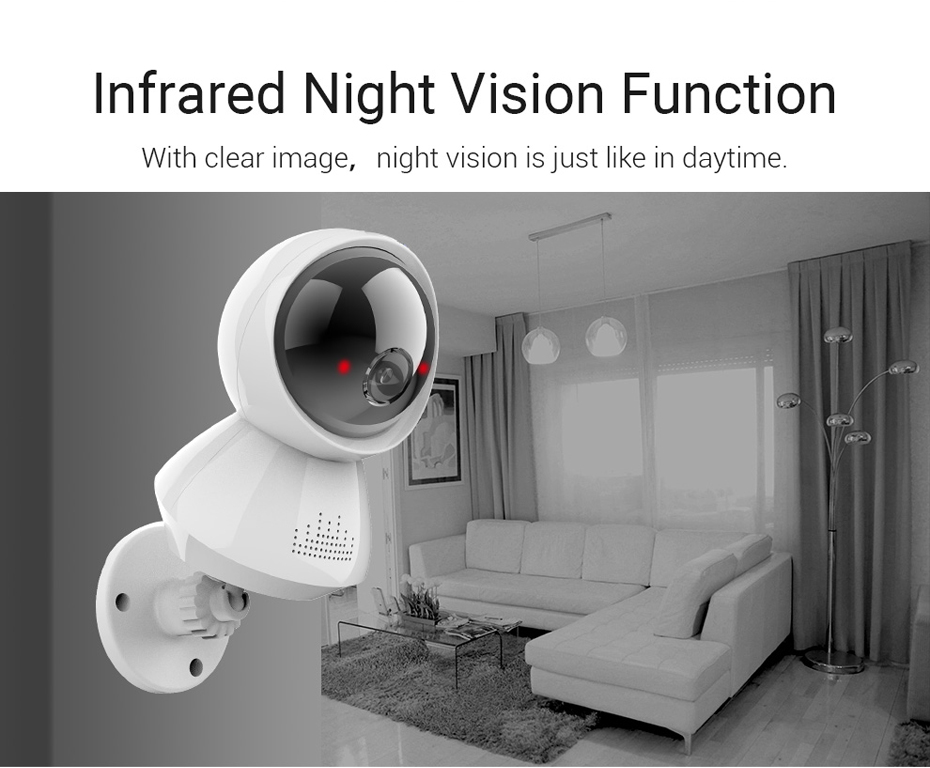 H.VIEW 1080P Panoramic Camera 180 CCTV Camera 720P IP Camera Wifi Camara IP Fisheye Video Surveillance Cameras (10)