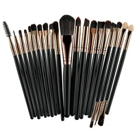 ROSALIND 20 Adet Profesyonel Makyaj Fırçalar Seti Pudra Fondöten Göz Farı Makyaj Fırçalar Kozmetik Yumuşak Sentetik Saç