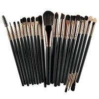 ROSALIND 20 Pcs Pincéis de Maquiagem Profissional Definida Em Pó Fundação Eyeshadow Make Up Brushes Cosméticos Macio Cabelo Sintético