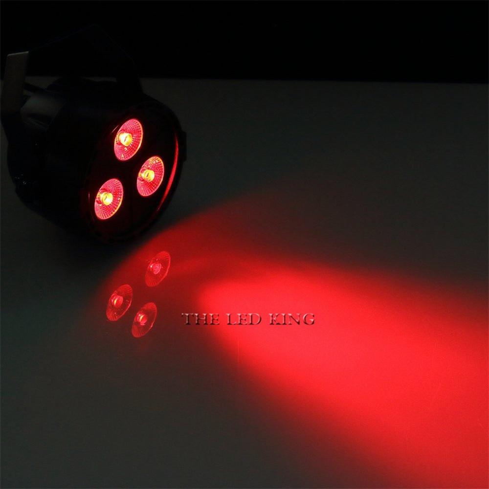 RGB UV 4IN1 LED Light Mixing 8 DMX CH IP20 Led Par 24W DMX Par Light Dj Light for Party Disco EU Plug