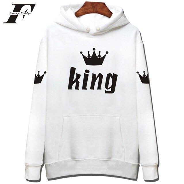 King Fashion Black Hoodie