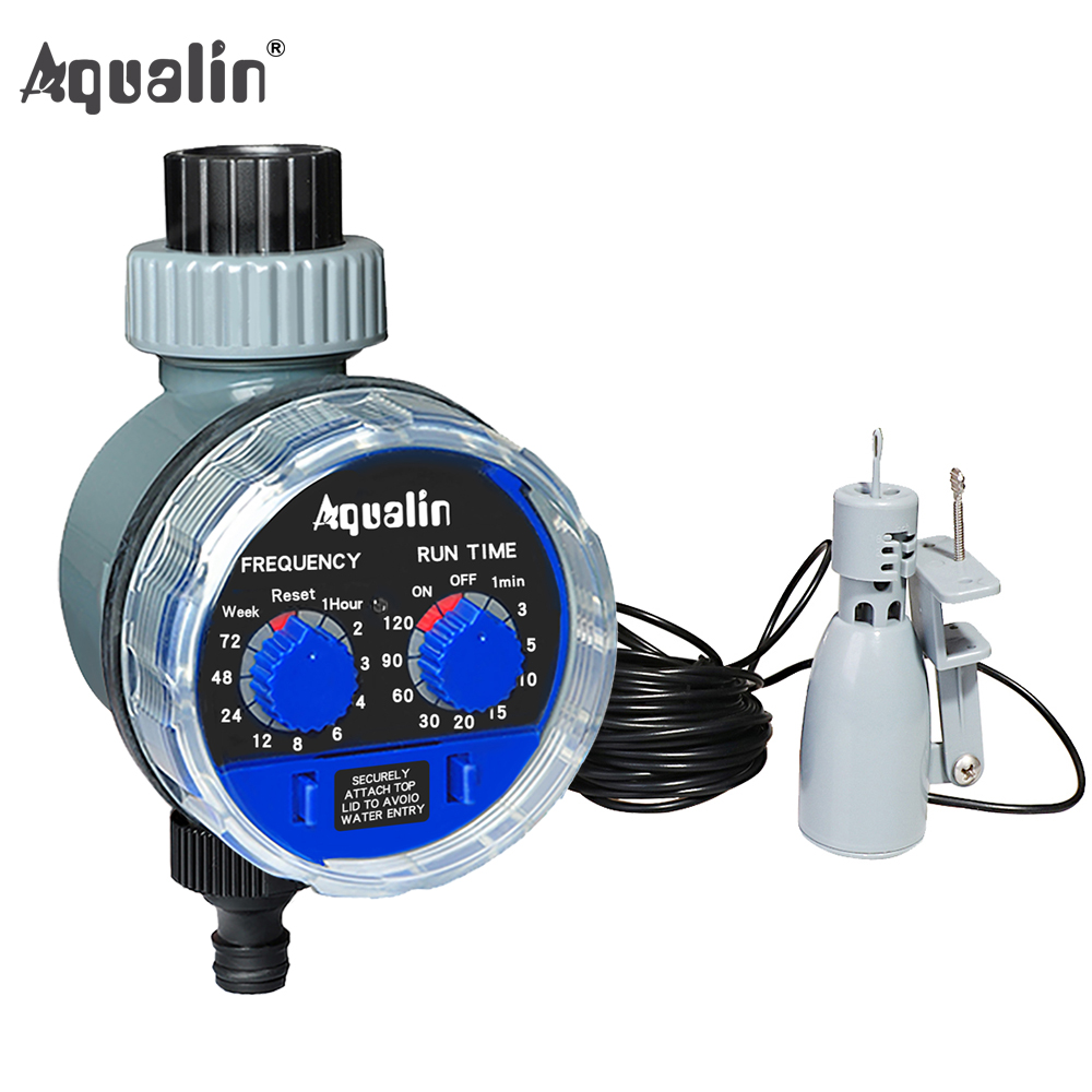 Rain-Sensor Controller Water-Timer Garden Automatic Ball-Valve 21103 And 21025A Upgraded-Version title=