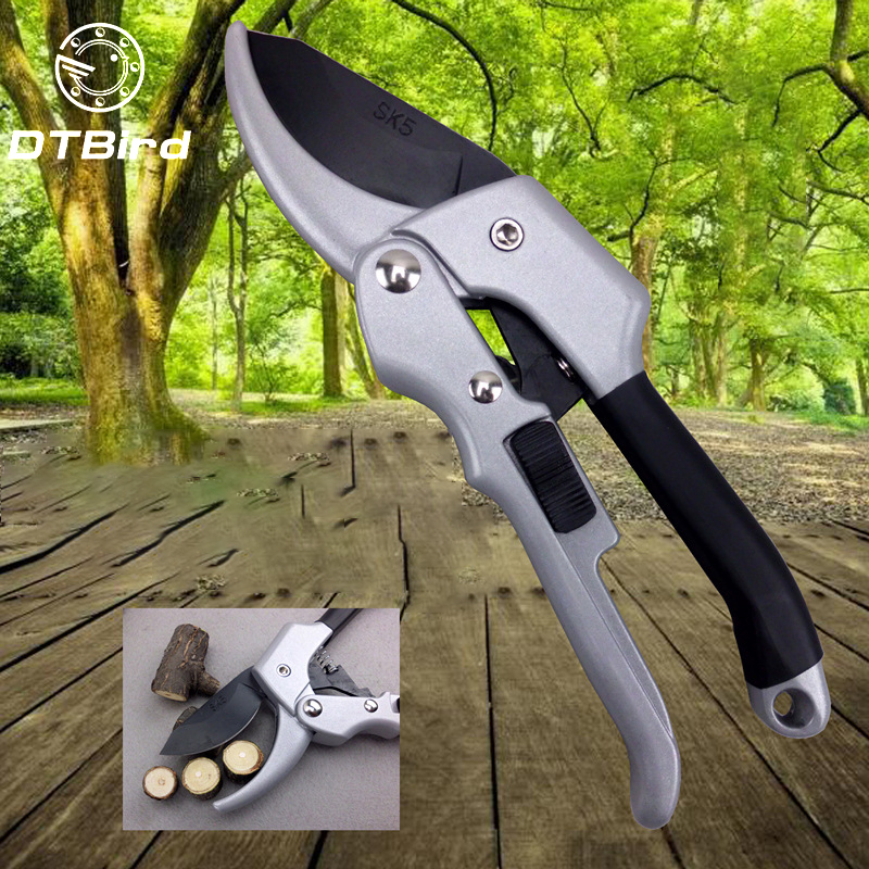 DTBird Labor-saving Gardening Scissor made of Carbon Steel for Bonsai Pruning and Flower Picking 3