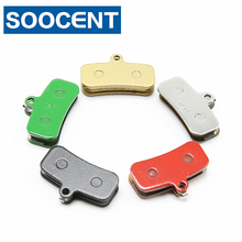 купить 4 Pairs MTB Bicycle Disc Brake Pads for Shimano XTR BR M9000 XT M8000 SLX M675 Bike Metal Brake Pad Alfine S700 Deore M615 Rs785 по цене 390.79 рублей