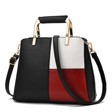 Best Selling Women's Bag New 2019 Fashion Color Matching Handbag High Quality Wild Shoulder Diagonal Package цена 2017