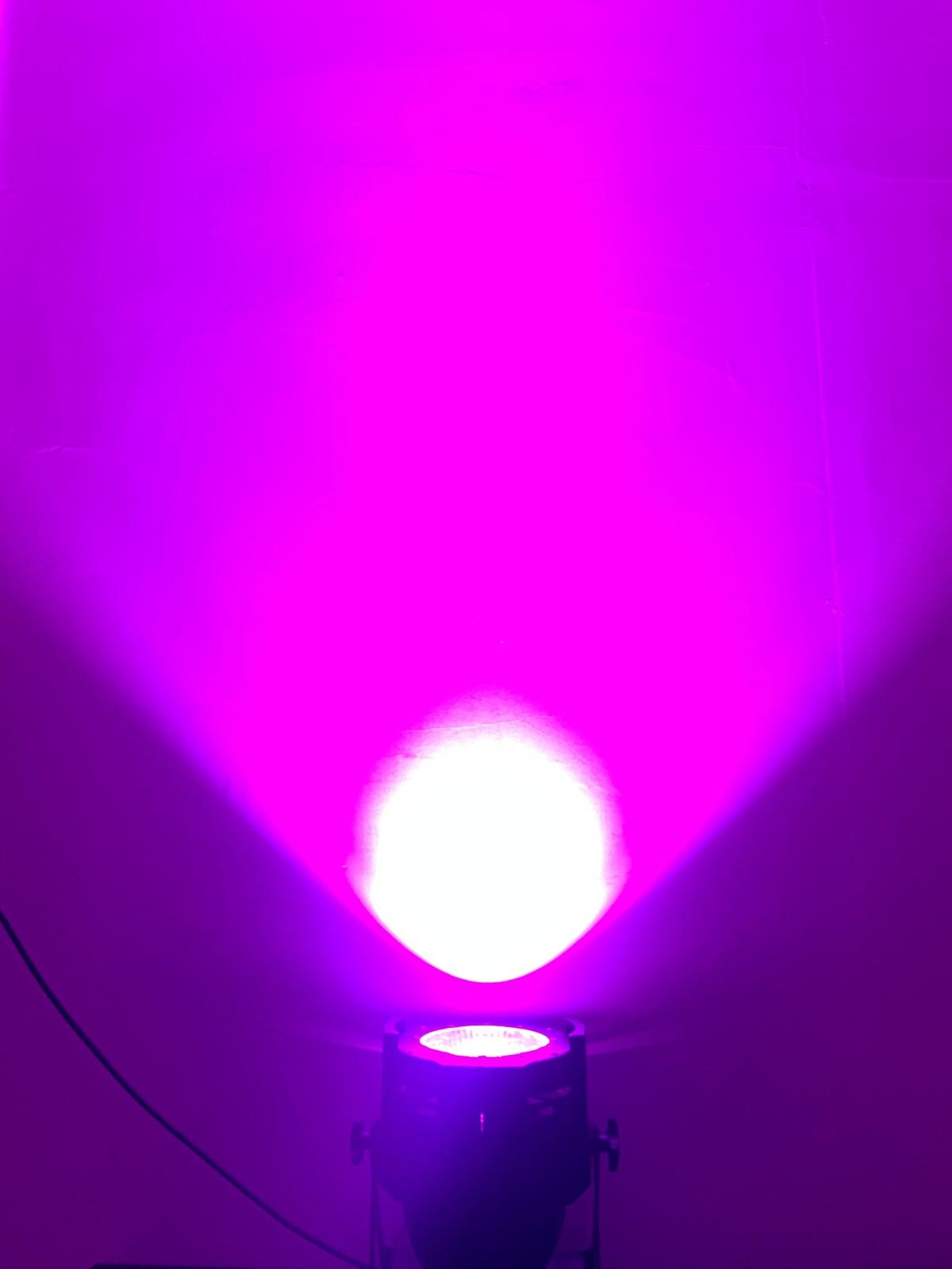 LED par 200 W COB RGBWA UV 5in1/RGBW 4in1/rvb 3in1/blanc froid chaud LED UV Par Par64 LED projecteur lumière dj - 3