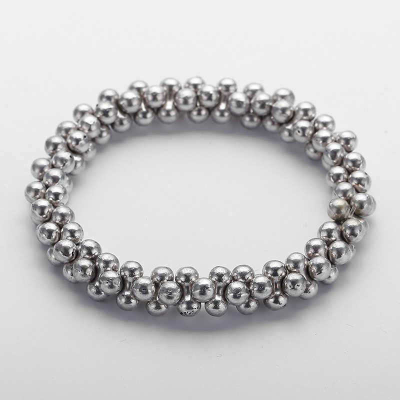 Darmowa wysyłka moda stopu metalu śliczne kości bransoletka ze stopów dla mężczyzn dla kobiet prezent sukienka biżuteria