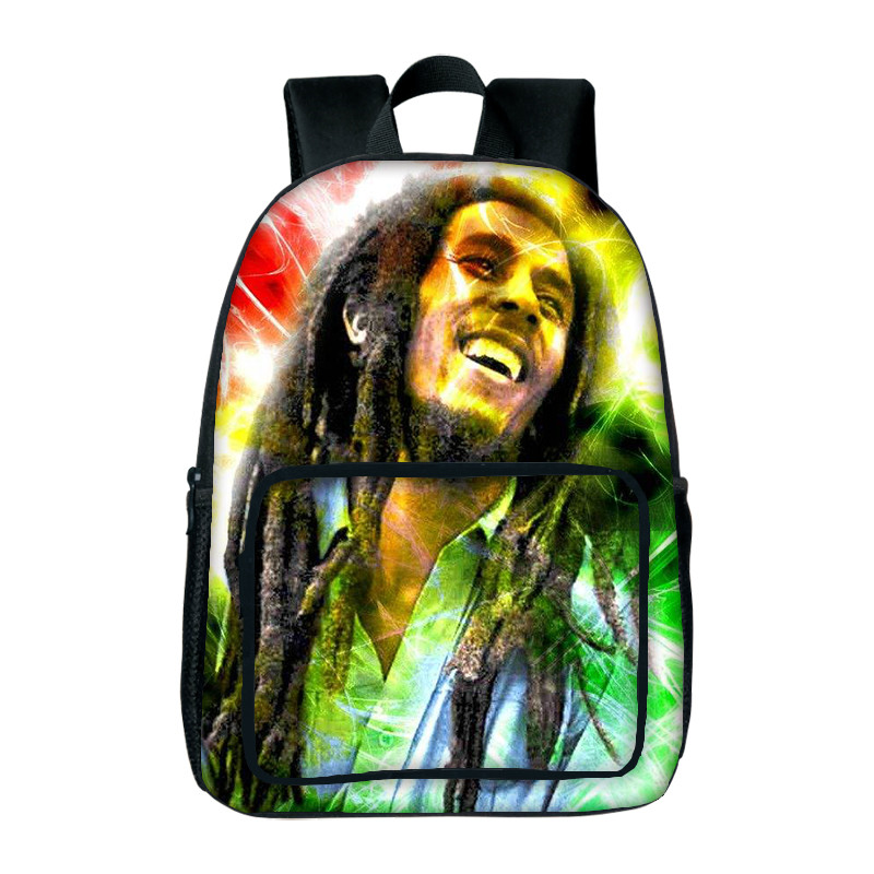 New Design Bob Marley Backpacks For Women 3D Printed School Bags Fashion Girls Book Bags Good Quality School Bags For Kid