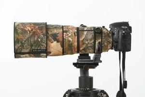 Image 3 - ROLANPRO עדשת הסוואה מעיל גשם כיסוי עבור ניקון AF S 300mm f/2.8G ED VR Anti shake אני & השני תואם עדשת מגן שרוול