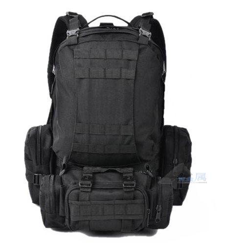 Sports bag backpack 50L Travel Bag black / army green / brown / camouflage