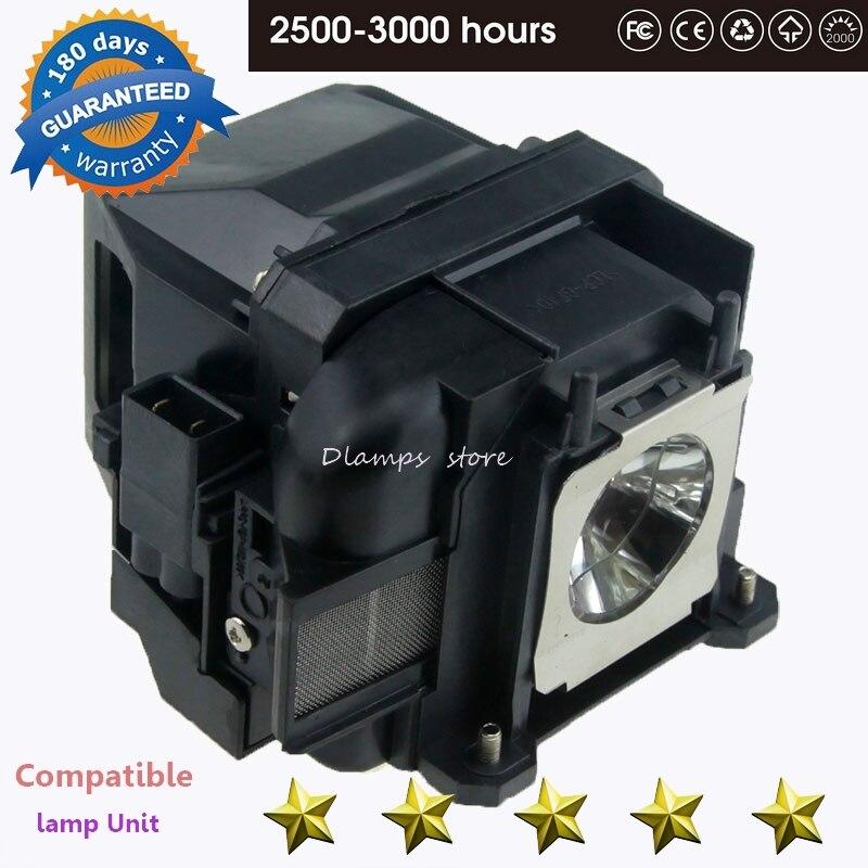 Substituição ELPLP88 V13H010L88 para EPSON Powerlite S27 EB-S04 EB-945H EB-955WH EB-965H EB-98H EB-S31Projectors