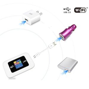 Image 5 - סמארטפון נייד 4G LTE USB אלחוטי נתב 150 Mbps נייד WiFi Hotspot 4G אלחוטי נתב עם כרטיס ה SIM חריץ עבור נסיעות