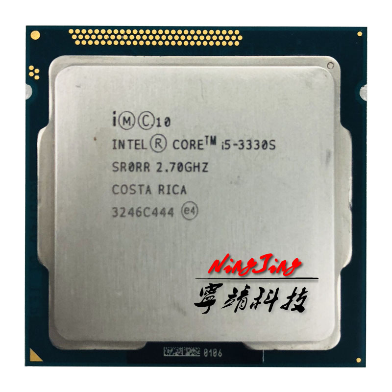 Intel Core i5 3330S i5 3330S 2 7 GHz Quad Core CPU Processor 6M 65W LGA
