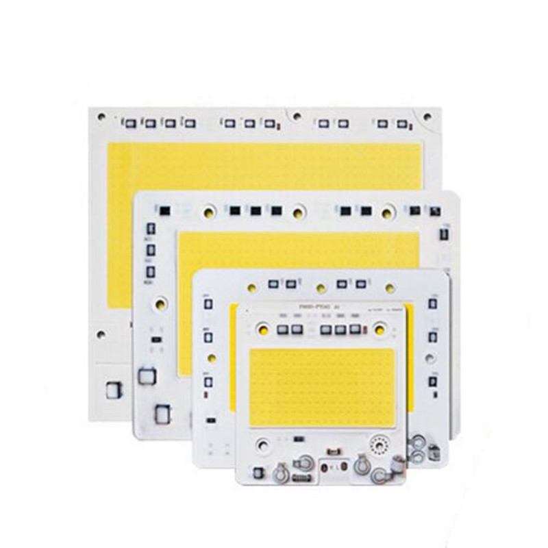 50w/100w/150w 200w <font><b>LED</b></font> <font><b>COB</b></font> AC220V <font><b>110V</b></font> light Module <font><b>LED</b></font> CHIP Floodlight Lamp SMART IC city power White/warm Free Shipping 5pcs image