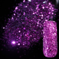 Dazzling Purple Sequin Dust Gem Nail Glitter Decorations Nail Art Designs Acrylic UV Mix Glitter Powder 3D Nail Art Tips 279