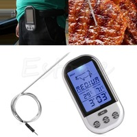 Reliable Digital Thermometer Wireless Remote Oven Food Cooking Meat BBQ Grill