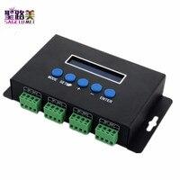 BC 204 DC5V 24V Artnet to SPI DMX pixel light controller Eternet protocol input 680pixels*4CH One port(1X512 Channels) output