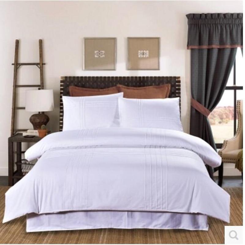 Bedding four - piece cotton pure color simple modernBedding four - piece cotton pure color simple modern