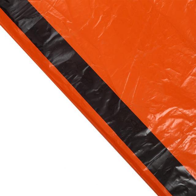 Waterproof Orange Thermal Emergency Blanket