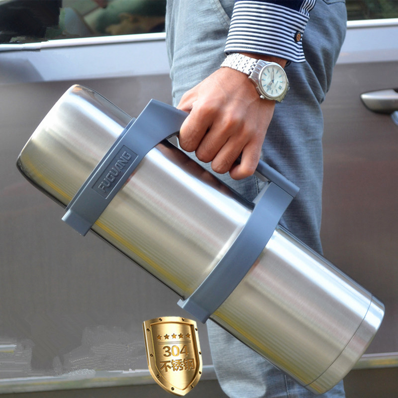 3L~3.5L Stainless Steel insulated Thermos Bottle Thermo cup Travel Coffee Mugs Thermal vacuum water bottle Thermal Sport Kettle