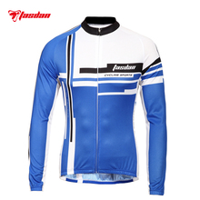 Tasdan Cycling Wear Cycling Jersey Mens Bike Shirt Long Cycling Jerseys Outdoor Sportswear