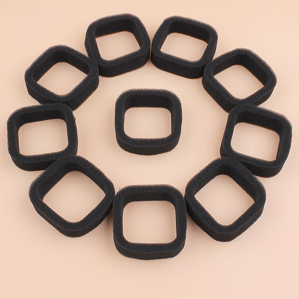 10Pcs/lot Air Filter Fit KAWASAKI TH23D TH26D TH23 TH26 TH 23 26 TJ27 11010-2530 Brushcutter Trimmer Replacement