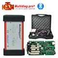 Mejor 2014.3 software keygen gratis Multidiag pro tcs cdp pro plus verde sola Placa PCB con Bluetooth añadir conjunto completo 8 coche cables