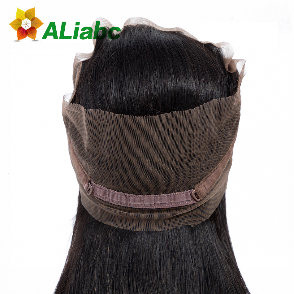 Aliabc Brazilian Straight Lace Closure 1 Pcs Natural Color 8-20 Inch 100% Human Hair