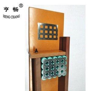 Image 1 - 18650 1s20p 2s10p vernikkeld staal strip 0.15mm rechthoekige kolom Nikkel Strip Tape 18650 batterij zonder houder