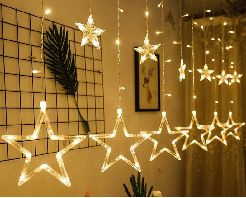 HTB14ZxtXovrK1RjSszfq6xJNVXao - Christmas Decorations for Home Fairy Lights Outdoor Indoor Led String light Party Weeding Adornos Navidad Natal Ornaments Decor