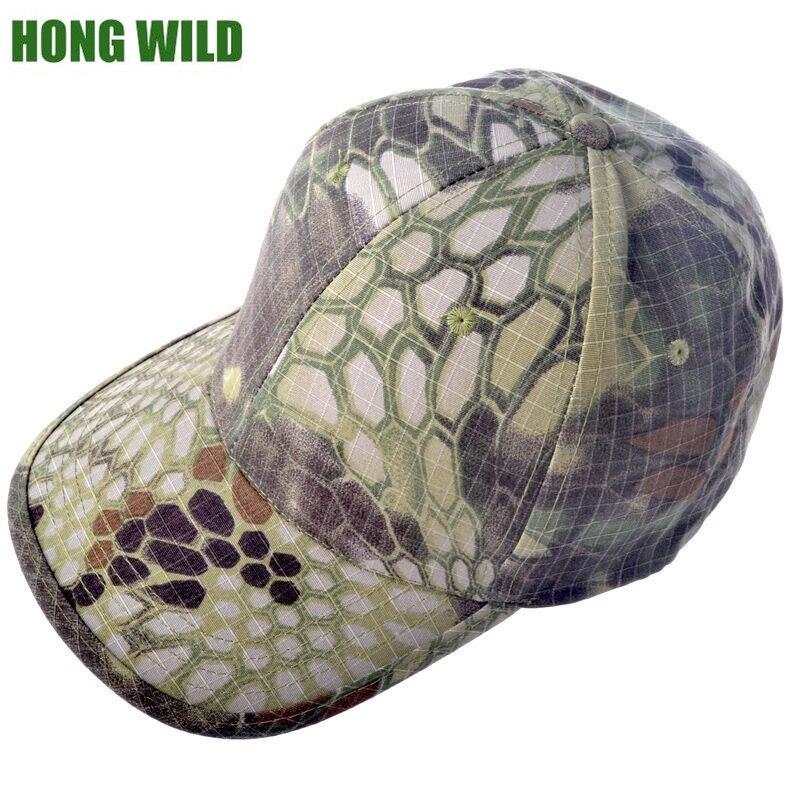 Camouflage hat men army bionic Baseball cadet Military cap python  rattlesnake python lines Tactical hat b4c36558d1b