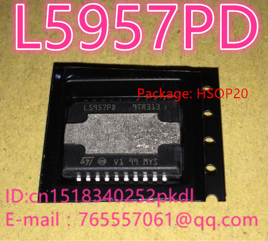 100% New L5957PD HSOP20 car radio multifunctional regulator car computer board chip IC chip