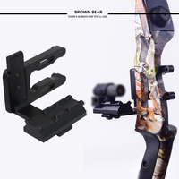 Archery CNC Bow Sight Picatinny Bracket Mount Mount For Hunting Red Dot Laser Sight Reflex Sight