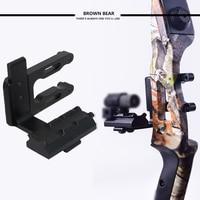 Archery CNC Bow Sight Picatinny Bracket Mount Mount For Hunting Red Dot Laser Sight Reflex Sight