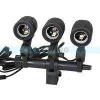 Three Head E27 AC Socket Bulb Swivel Adapter Flash Lamp Holder Umbrella Bracket For Photography Studio