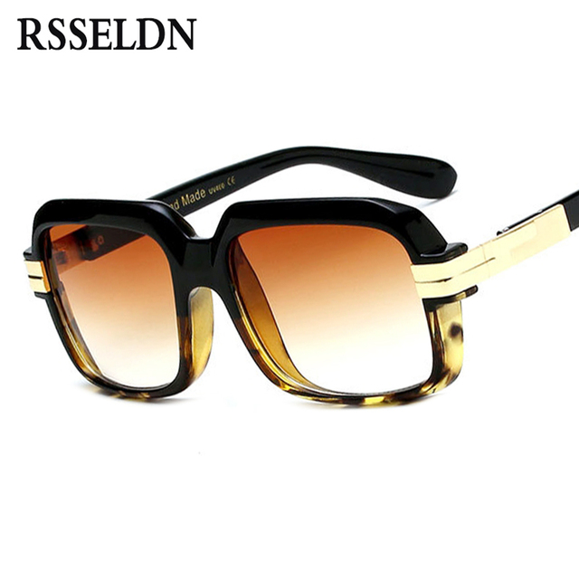 fe999a0943357 RSSELDN Praça Da Moda Óculos De Sol Das Mulheres Lente Clara Quadrado  Transparente UV400 Shades Para