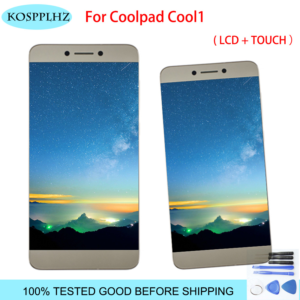 For Letv <font><b>LeEco</b></font> Coolpad cool1 <font><b>cool</b></font> <font><b>1</b></font> c106 c106-7 C106-9 LCD <font><b>Display</b></font> Touch Screen Digitizer Assembly R116 C103 Original LCD+tools image