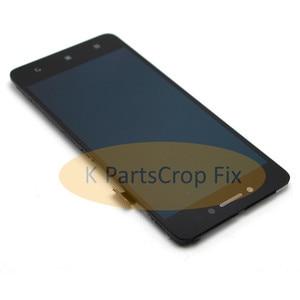 Image 4 - מקורי עבור Lenovo S90 LCD תצוגת מסך מגע Digitizer עצרת עם מסגרת S90 T S90 U S90 A lcd החלפת חלקים