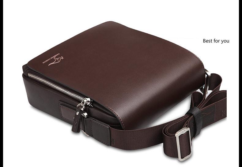 New Arrived luxury Brand men's messenger bag Vintage leather shoulder bag Handsome crossbody bag handbags Free Shipping 12