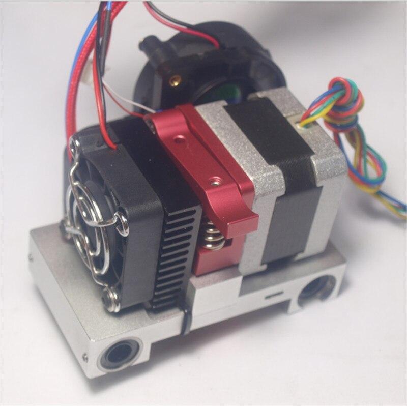 Falshforge/CTC 3D imprimante accessoires Replicator Mise À Niveau X axe métallique unique Extrudeuse Transport hotend assemblée kit