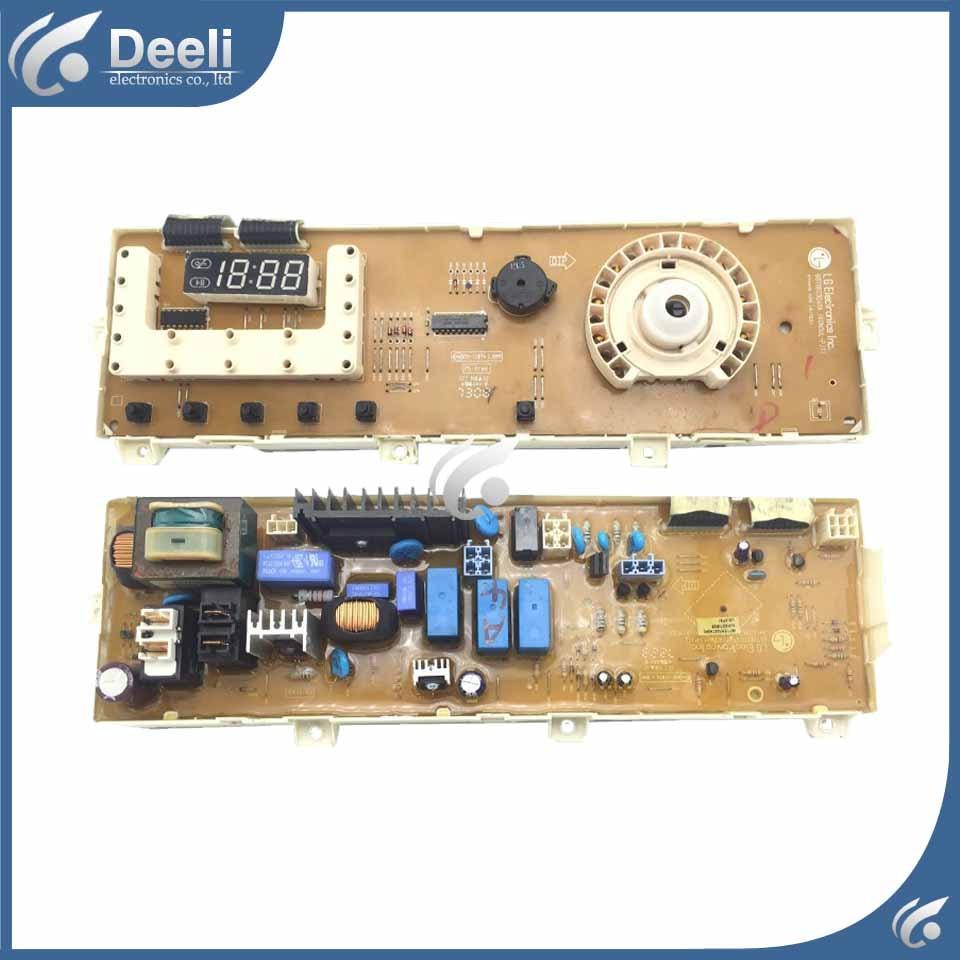 90% new for washing machine board control board WD-N80172 6870EC9247A Computer board used