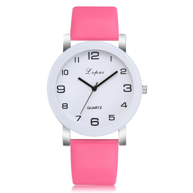 Hot PinkQuartz Watch