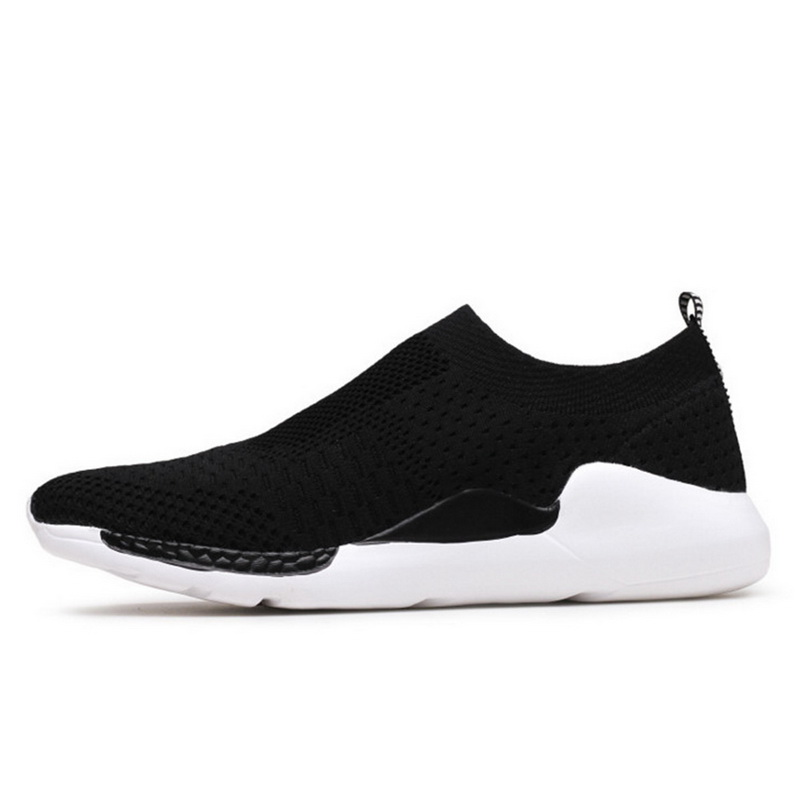 CALOFE Mesh Breathable Black Men Sneakers Running Shoes Outdoor Professional Athletic Training Sports Shoes Cushion High Quality