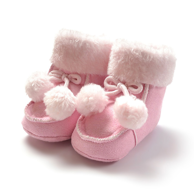 2015 New Brand Designer Baby Shoes Winter Warm Cotton
