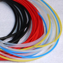 24L ID 0.6mm OD 0.9mm PTFE Teflon Tubing Pipe Brand New Wire Protection